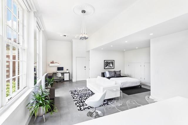 Park Place Condo contemporary-bedroom