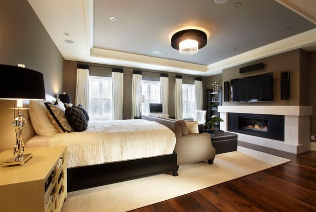 Park Side Retreat Transitional Bedroom Toronto By