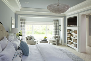 Parkwood Road Residence Master Bedroom traditional-bedroom