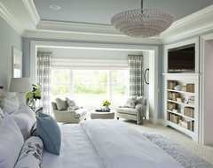 Parkwood Road Residence Master Bedroom contemporary bedroom