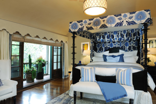 Pasadena Showcase House of Design mediterranean-bedroom