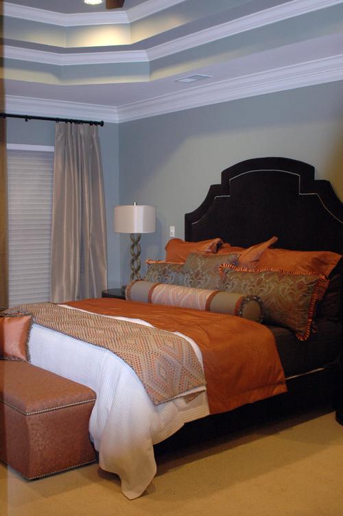 Patel Residence Master Bedroom modern bedroom