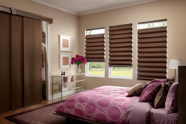 Patio / Sliding Door / Vertical Treatment Options Modern Bedroom