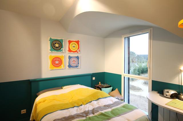 Patrice bideau architecte bedroom by armel istin photographie - Patrice bideau architecte ...