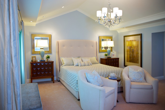 Peaceful master bedroom and bahroom traditional for Peaceful master bedroom designs