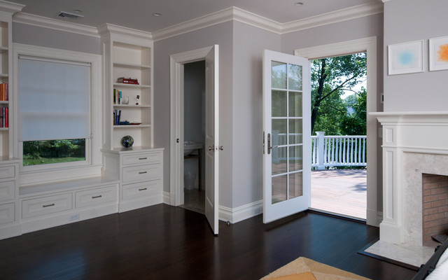 Pelham Shingle Style for a Modern Family contemporary-bedroom