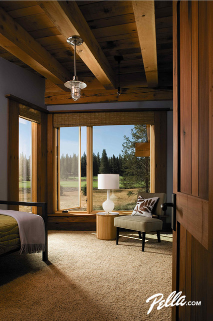 Pella® Architect Series® Fixed and Casement Windows traditional-bedroom