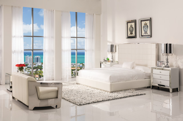 Bedroom Sets El Dorado pembroke square bedroom - modern - bedroom - miami -el dorado