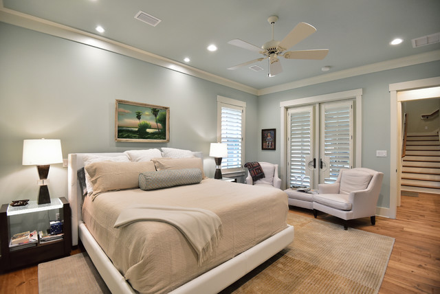 Pensacola Charm Transitional Bedroom Miami By Sprague Construction