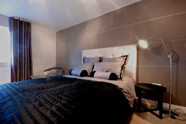 Penthouse Apartment contemporary-bedroom