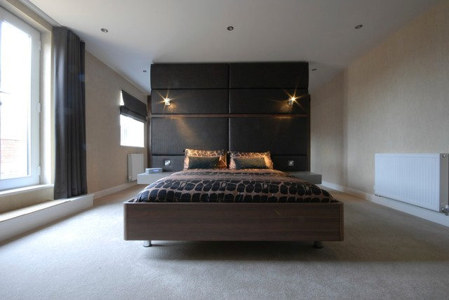 Penthouse Apartment  Contemporary  Bedroom  manchester UK  by