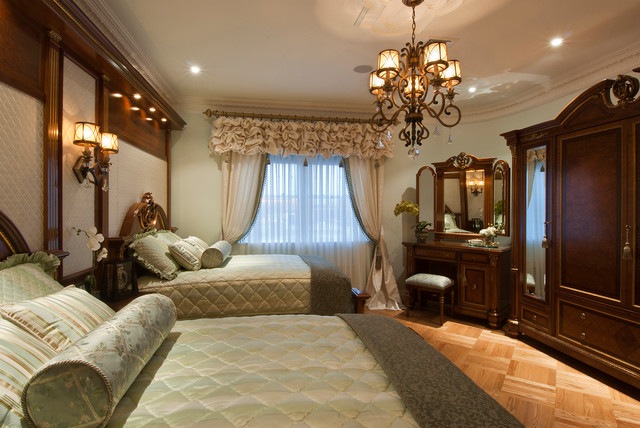 Penthouse Apartment Traditional Bedroom New York
