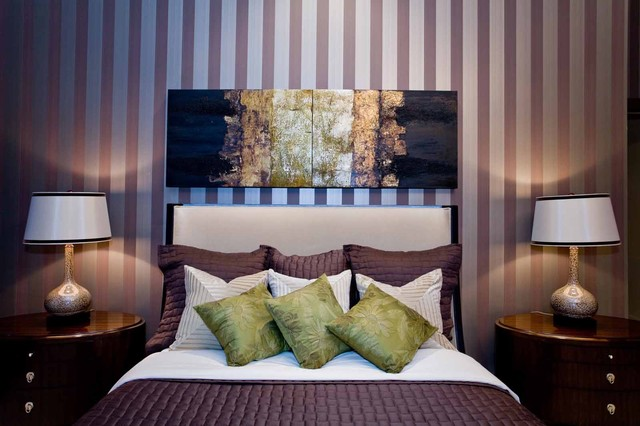 Luster of the Pearl contemporary-bedroom