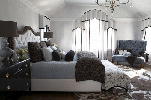 Perfect House For A Hip Young Couple Traditional Bedroom New York By Debra Geller: master bedroom for young couple