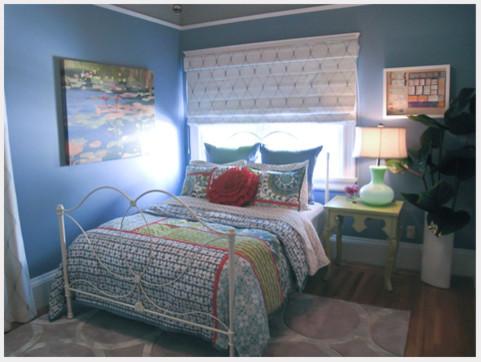 Periwinkle Teen Bedroom