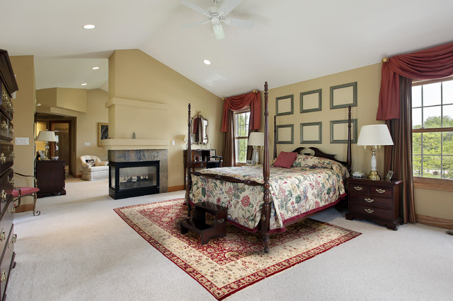 Persian Rug - Traditional - Bedroom - DC Metro - by Rugknots ...