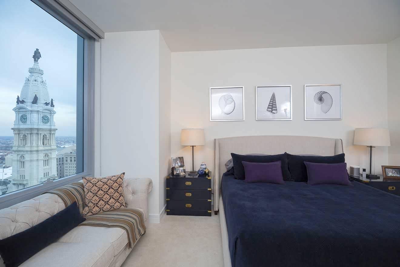 Phila Ritz Carlton Residences - Bedroom