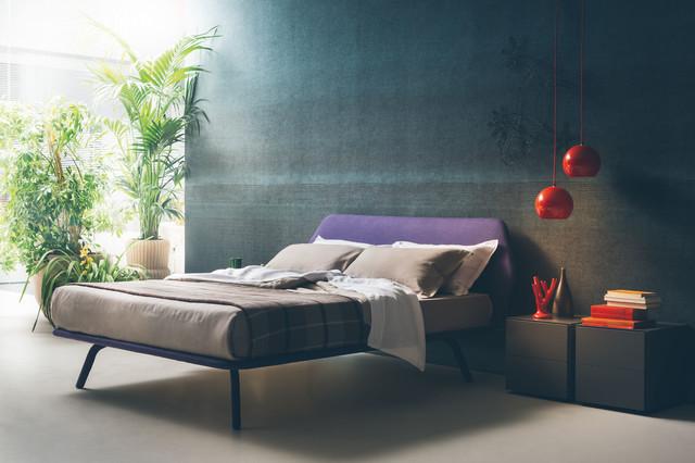 Pianca Trama Bed - Contemporaneo - Camera da Letto - San Diego - di ...