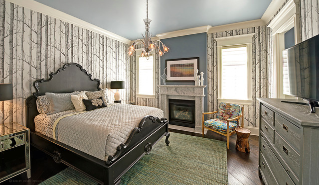 Pickwick, TN Lake House contemporary-bedroom