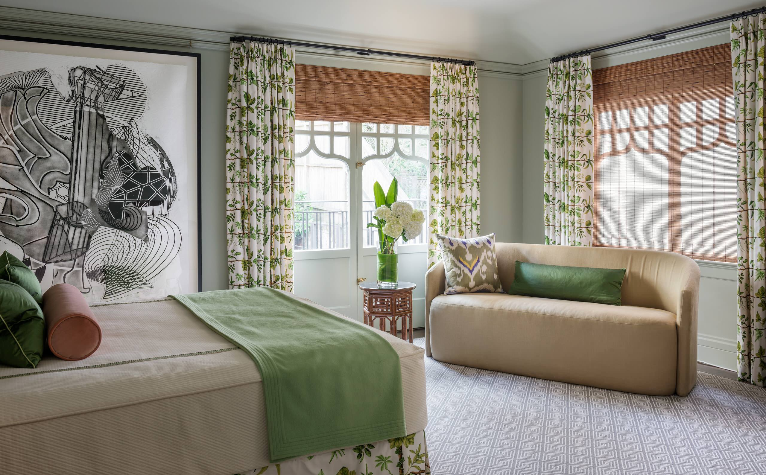 Light Green Bedroom Ideas And Photos Houzz
