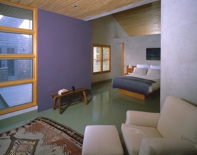 Pilot Hill House contemporary-bedroom