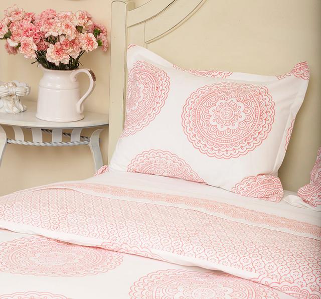Pink Bedding - Bedroom - san francisco - by Attiser