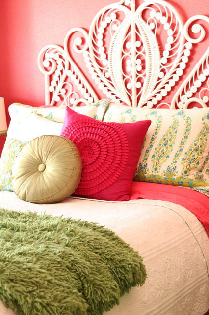Pink Bedroom eclectic bedroom