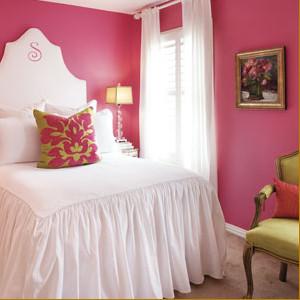 Pink Designs modern-bedroom