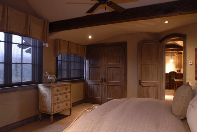 Pioneer Creek contemporary-bedroom