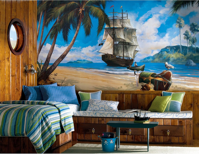 Pirates Bedding And Room Decorations