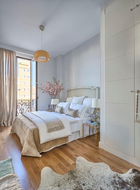 PISO PILOTO SALSA INMOBILIARIA transitional-bedroom