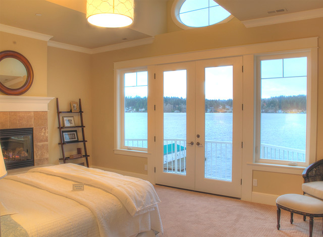 Plan 23495JD: Lake Front Shingle Style Home traditional-bedroom