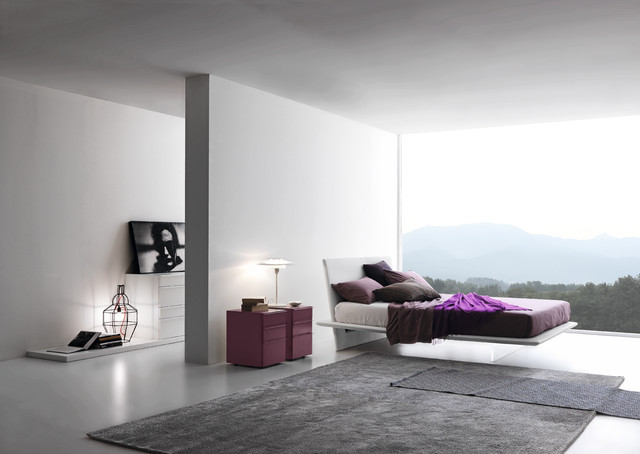 Plana Floating Bed by Presotto Italia