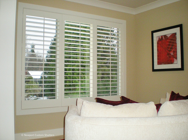 Plantation Shutters Traditional Bedroom Seattle By