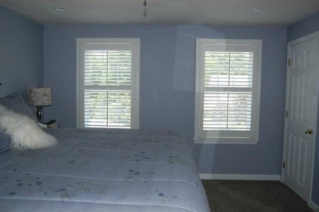 Plantation Shutters Traditional Bedroom Boston By