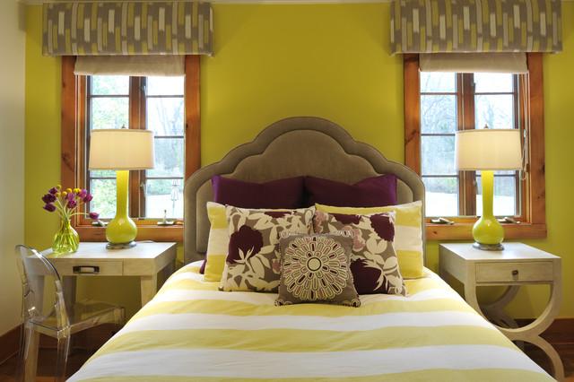 Playfully Plum Bedroom Modern Bedroom Nashville By Beckwith