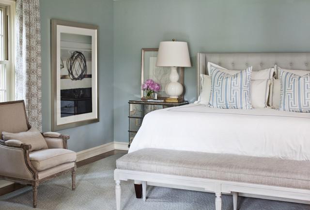 Pleasant Valley Transitional Bedroom Little Rock By Tobi Fairley Interior Design