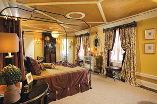 plum and gold master bedroom traditional bedroom new 11704 | traditional bedroom