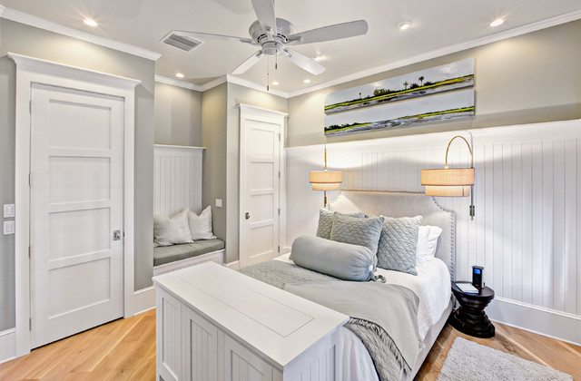 Beach Style Bedroom Jacksonville By Beach Chic Design