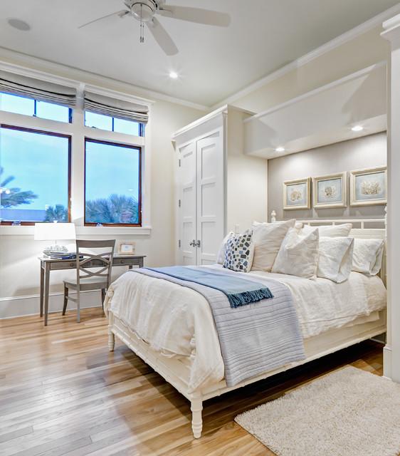 Ponte Vedra Residence Beach Style Bedroom