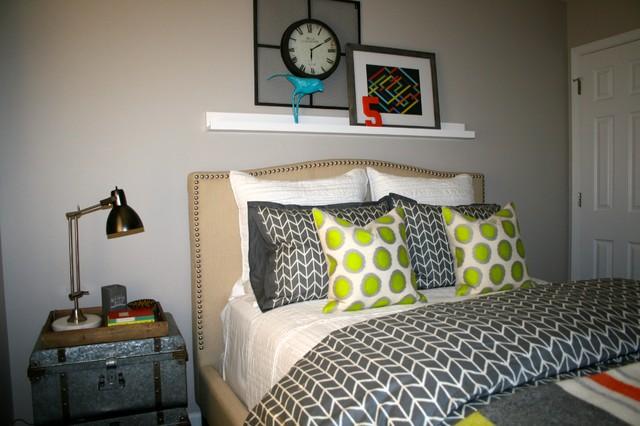 Vintage modern bedroom eclectic bedroom raleigh by for Vintage eclectic bedroom
