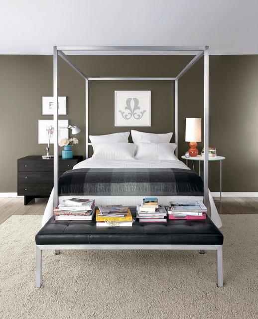 Portica canopy bed modern-bedroom