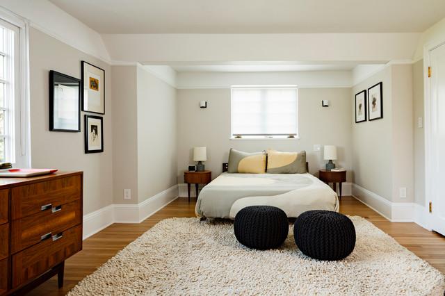 Portland Modern Tudor Bedroom - Contemporary - Bedroom ...