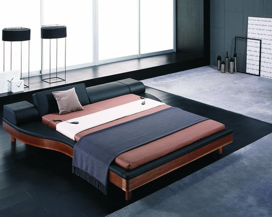 Portofino - Adjustable Modern Leather Bed - Features