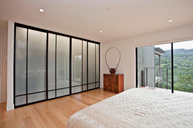 Portola Valley Modern modern-bedroom