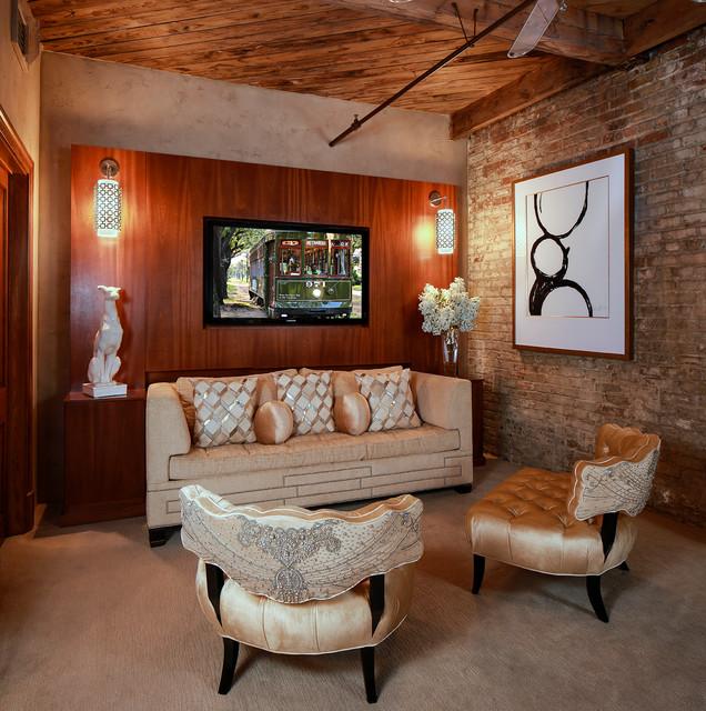 Posh new orleans condo 1 contemporary bedroom new for Posh bedroom designs