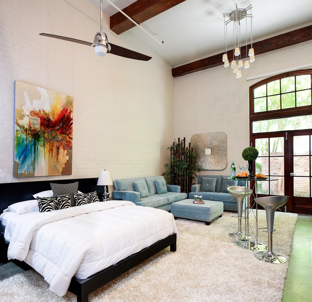 Posh new orleans condo 2 modern bedroom new for Posh bedroom designs
