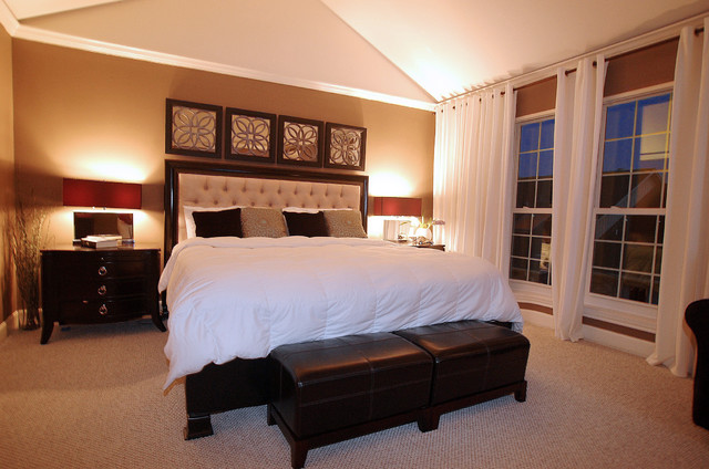 Potomac House contemporary bedroom