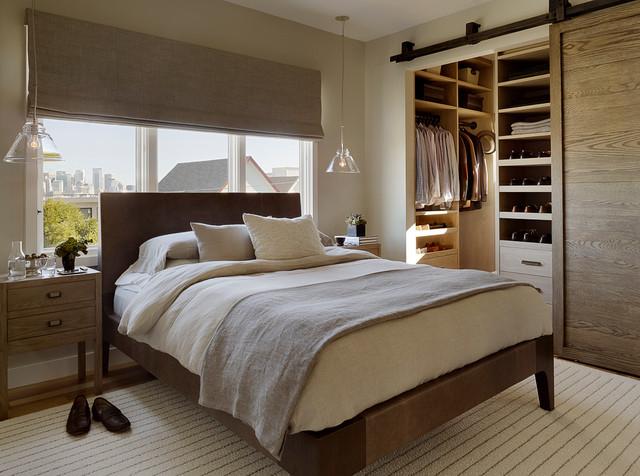 Potrero Hill contemporary-bedroom
