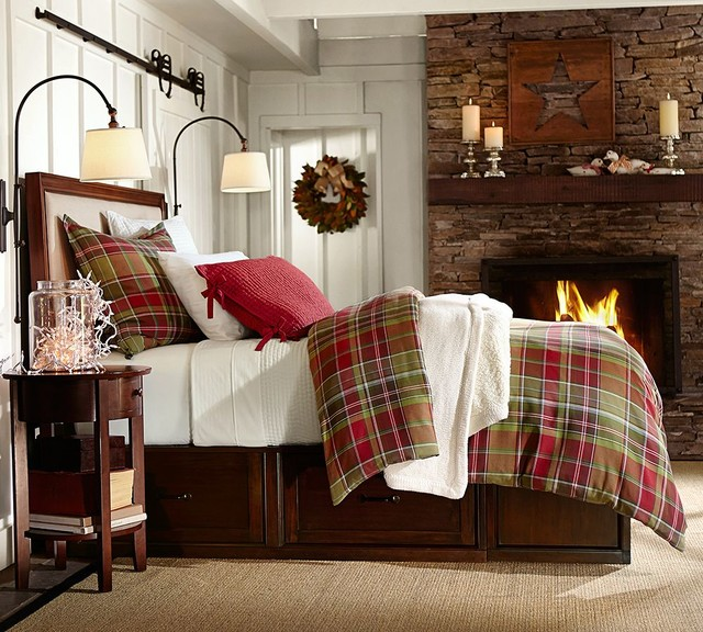 Pottery barn for Barn style bedroom ideas